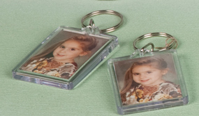 photographic keychains